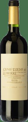 37,95 € Free Shipping | Red wine Luberri Cepas Viejas Crianza D.O.Ca. Rioja The Rioja Spain Tempranillo Bottle 75 cl