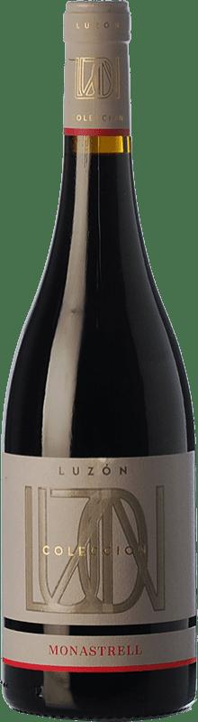 7,95 € Free Shipping | Red wine Luzón Colección Joven D.O. Jumilla Castilla la Mancha Spain Monastrell Bottle 75 cl