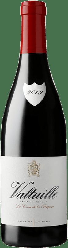 45,95 € Free Shipping | Red wine Castro Ventosa Valtuille Cova de la Raposa Crianza D.O. Bierzo Castilla y León Spain Mencía Bottle 75 cl