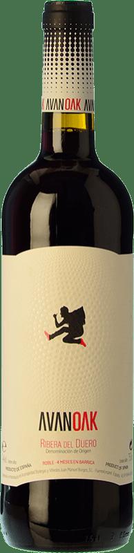 7,95 € Free Shipping   Red wine Juan Manuel Burgos Avan OK Roble D.O. Ribera del Duero Castilla y León Spain Tempranillo Bottle 75 cl