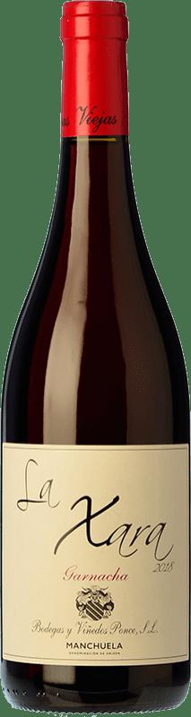 11,95 € Free Shipping | Red wine Ponce La Xara Joven D.O. Manchuela Spain Grenache Bottle 75 cl