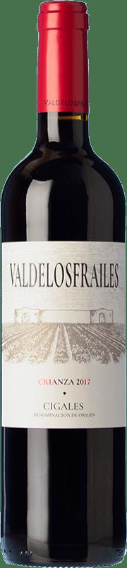 7,95 € Free Shipping   Red wine Valdelosfrailes Crianza D.O. Cigales Castilla y León Spain Tempranillo Bottle 75 cl