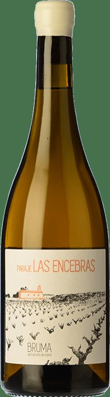 18,95 € Free Shipping | White wine Bruma del Estrecho Paraje Las Encebras Crianza D.O. Jumilla Castilla la Mancha Spain Airén Bottle 75 cl