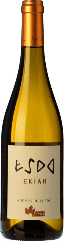 21,95 € Free Shipping | White wine Ficaria Ekiar Crianza Spain Macabeo Bottle 75 cl
