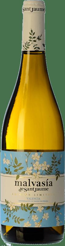 8,95 € Free Shipping | White wine Valsangiacomo Valsan 1831 Malvasía de SanJaume D.O. Valencia Valencian Community Spain Malvasía, Merseguera Bottle 75 cl