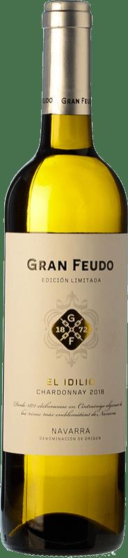 6,95 € Free Shipping   White wine Chivite Gran Feudo El Idilio blanco D.O. Navarra Navarre Spain Chardonnay Bottle 75 cl