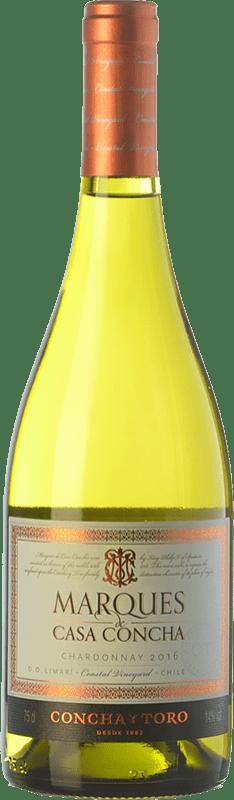 17,95 € Free Shipping | White wine Concha y Toro Marqués de Casa Concha Crianza Valle del Limarí Chile Chardonnay Bottle 75 cl