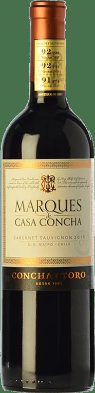 17,95 € Free Shipping | Red wine Concha y Toro Marqués de Casa Concha Crianza I.G. Valle del Cachapoal Chile Cabernet Sauvignon Bottle 75 cl