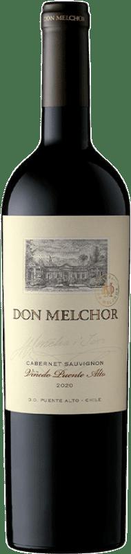 79,95 € Free Shipping | Red wine Concha y Toro Don Melchor Reserva I.G. Valle del Maipo Maipo Valley Chile Merlot, Cabernet Sauvignon, Cabernet Franc, Petit Verdot Bottle 75 cl