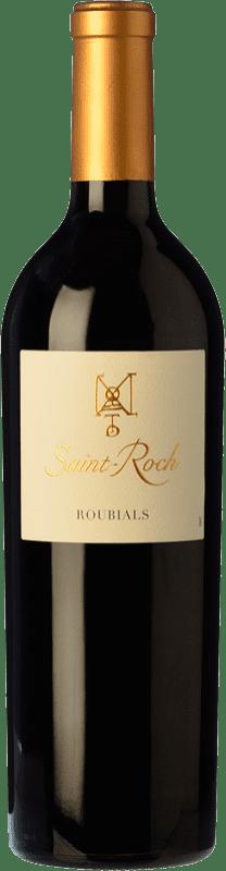 17,95 € Free Shipping | Red wine Domaine Lafage Château Saint-Roch Roubials Roble A.O.C. Côtes du Roussillon Roussillon France Grenache Bottle 75 cl