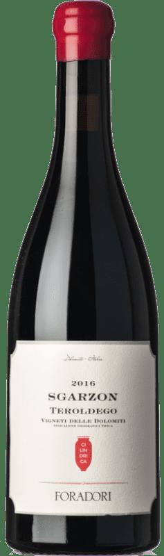 31,95 € Free Shipping | Red wine Foradori Teroldego Sgarzon Cilindrica I.G.T. Vigneti delle Dolomiti Trentino-Alto Adige Italy Teroldego Bottle 75 cl
