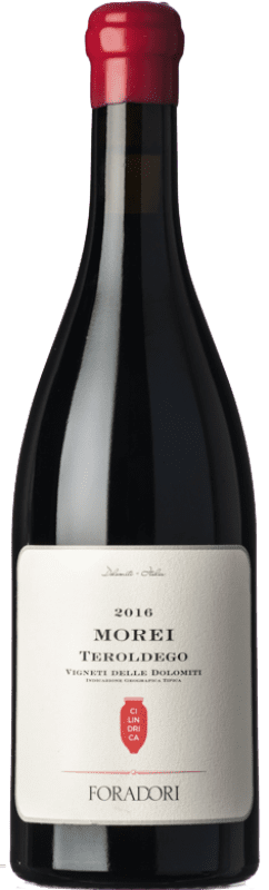 31,95 € Free Shipping | Red wine Foradori Teroldego Morei Cilindrica I.G.T. Vigneti delle Dolomiti Trentino-Alto Adige Italy Teroldego Bottle 75 cl