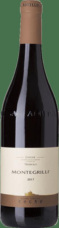 15,95 € Free Shipping | Red wine Elvio Cogno Montegrilli D.O.C. Langhe Piemonte Italy Nebbiolo Bottle 75 cl