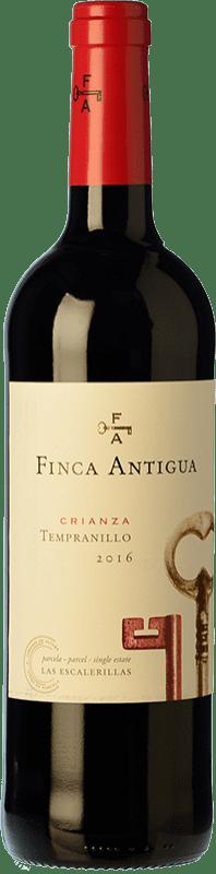 6,95 € Free Shipping | Red wine Finca Antigua Crianza D.O. La Mancha Castilla la Mancha Spain Tempranillo Bottle 75 cl