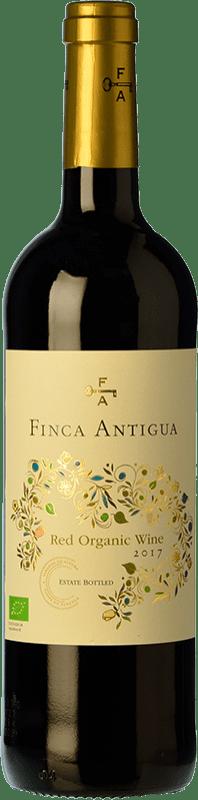 7,95 € Free Shipping | Red wine Finca Antigua Orgánico Roble D.O. La Mancha Castilla la Mancha Spain Syrah, Grenache Bottle 75 cl