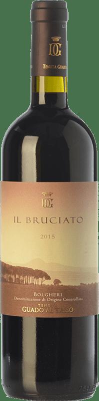 17,95 € Free Shipping   Red wine Guado al Tasso Il Bruciato D.O.C. Bolgheri Tuscany Italy Merlot, Syrah, Cabernet Sauvignon Magnum Bottle 1,5 L