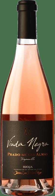 19,95 € Free Shipping   Rosé wine San Pedro Ortega Viuda Negra Finca Prado de las Almas D.O.Ca. Rioja The Rioja Spain Tempranillo Bottle 75 cl