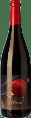 11,95 € Free Shipping | Red wine Josep Grau Una Nit en Globus Negre Roble D.O. Montsant Catalonia Spain Syrah, Grenache, Carignan Bottle 75 cl