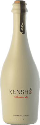 12,95 € Free Shipping | Sake Kensho Mediterranean Tokubetsu Junmai D.O. Catalunya Catalonia Spain Half Bottle 37 cl