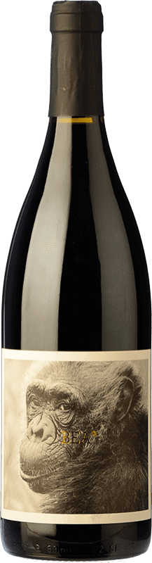 10,95 € Free Shipping | Red wine La Vinyeta Mono Negre Bea Roble D.O. Empordà Catalonia Spain Monastrell Bottle 75 cl