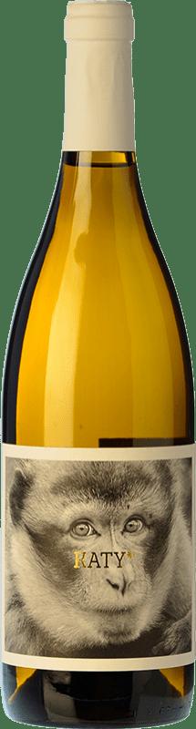 10,95 € Free Shipping | White wine La Vinyeta Mono Blanc Pipa D.O. Empordà Catalonia Spain Malvasía Bottle 75 cl