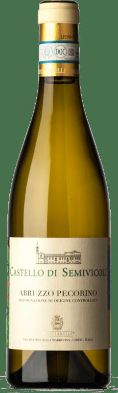 16,95 € Free Shipping | White wine Masciarelli Castello di Semivicoli D.O.C. Abruzzo Abruzzo Italy Pecorino Bottle 75 cl