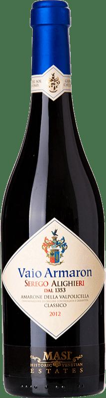 75,95 € Free Shipping   Red wine Masi Superiore Alighieri Vaio Armaron D.O.C.G. Amarone della Valpolicella Veneto Italy Corvina, Rondinella, Molinara Bottle 75 cl
