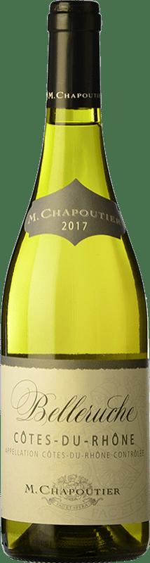 13,95 € Free Shipping   White wine Chapoutier Belleruche Blanc Crianza A.O.C. Côtes du Rhône Rhône France Grenache White, Roussanne, Viognier, Bourboulenc, Clairette Blanche Bottle 75 cl