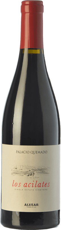 19,95 € Free Shipping | Red wine Palacio Quemado Acilates Crianza D.O. Ribera del Guadiana Spain Tempranillo, Syrah, Cabernet Sauvignon Bottle 75 cl
