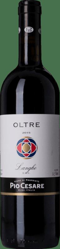 21,95 € Free Shipping   Red wine Pio Cesare Rosso Oltre D.O.C. Langhe Piemonte Italy Merlot, Cabernet Sauvignon, Petit Verdot, Nebbiolo, Barbera Bottle 75 cl