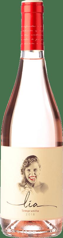 7,95 € Free Shipping | Rosé wine Ventosilla PradoRey Lia Joven D.O. Ribera del Duero Castilla y León Spain Tempranillo Bottle 75 cl