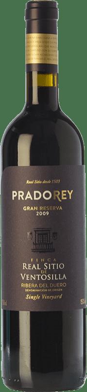 45,95 € Free Shipping | Red wine Ventosilla PradoRey Finca Real Sitio Ventosilla Gran Reserva D.O. Ribera del Duero Castilla y León Spain Tempranillo, Merlot, Cabernet Sauvignon Bottle 75 cl