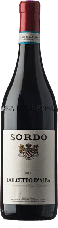10,95 € Free Shipping | Red wine Sordo D.O.C.G. Dolcetto d'Alba Piemonte Italy Dolcetto Bottle 75 cl