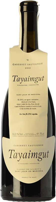 14,95 € Free Shipping   Red wine Tayaimgut Crianza D.O. Penedès Catalonia Spain Cabernet Sauvignon Bottle 75 cl