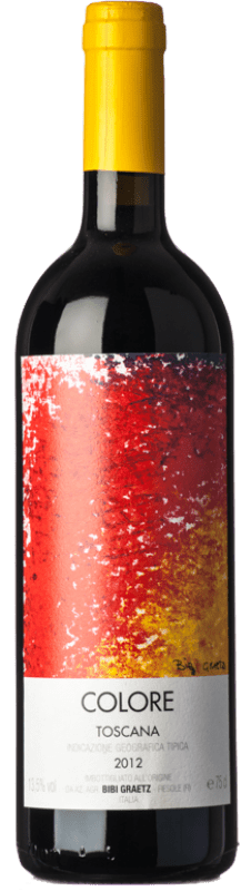 415,95 € Free Shipping   Red wine Bibi Graetz Rosso Colore I.G.T. Toscana Tuscany Italy Colorino, Canaiolo Bottle 75 cl
