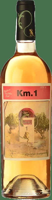8,95 € Free Shipping   Rosé wine Tianna Negre Ses Nines Km. 1 Rosat I.G.P. Vi de la Terra de Mallorca Majorca Spain Callet Bottle 75 cl