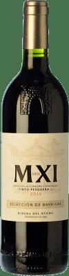 28,95 € Free Shipping | Red wine Pesquera MXI Crianza D.O. Ribera del Duero Castilla y León Spain Tempranillo Bottle 75 cl