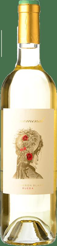 8,95 € Free Shipping | White wine Uvas Felices Fenomenal D.O. Rueda Castilla y León Spain Sauvignon White Bottle 75 cl