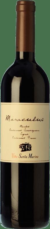 22,95 € Free Shipping   Red wine Santa Marina Miráculus Reserva I.G.P. Vino de la Tierra de Extremadura Estremadura Spain Merlot, Syrah, Cabernet Sauvignon, Cabernet Franc, Petit Verdot Bottle 75 cl