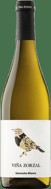 8,95 € Free Shipping   White wine Viña Zorzal Crianza D.O. Navarra Navarre Spain Grenache White Bottle 75 cl