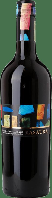 4,95 € Free Shipping | Red wine Zaccagnini Kasaura D.O.C. Montepulciano d'Abruzzo Abruzzo Italy Montepulciano Bottle 75 cl