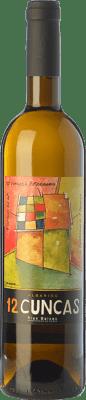 8,95 € Envío gratis | Vino blanco 12 Cuncas D.O. Rías Baixas Galicia España Albariño Botella 75 cl