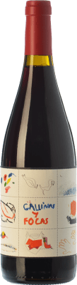 19,95 € Free Shipping | Red wine 4 Kilos Gallinas & Focas Crianza I.G.P. Vi de la Terra de Mallorca Balearic Islands Spain Syrah, Mantonegro Bottle 75 cl