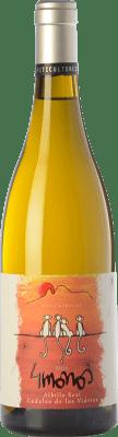 16,95 € Envío gratis | Vino blanco 4 Monos Crianza D.O. Vinos de Madrid Comunidad de Madrid España Albillo Botella 75 cl