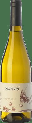 9,95 € Envío gratis | Vino blanco A Tresbolillo Canicas D.O. Rías Baixas Galicia España Albariño Botella 75 cl