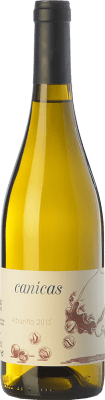 9,95 € Kostenloser Versand | Weißwein A Tresbolillo Canicas D.O. Rías Baixas Galizien Spanien Albariño Flasche 75 cl