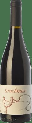 9,95 € Envío gratis | Vino tinto A Tresbolillo Tirachinas Crianza D.O. Bierzo Castilla y León España Mencía Botella 75 cl
