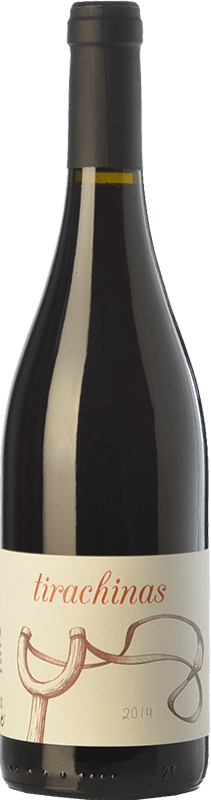 9,95 € Free Shipping | Red wine A Tresbolillo Tirachinas Crianza D.O. Bierzo Castilla y León Spain Mencía Bottle 75 cl
