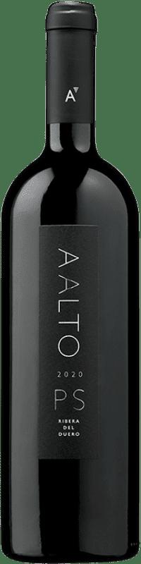 449,95 € Free Shipping | Red wine Aalto PS Crianza D.O. Ribera del Duero Castilla y León Spain Tempranillo Bottle 75 cl