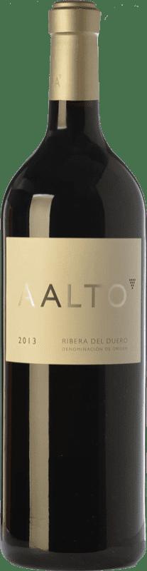 149,95 € Kostenloser Versand | Rotwein Aalto Reserva D.O. Ribera del Duero Kastilien und León Spanien Tempranillo Jéroboam Flasche-Doppel Magnum 3 L